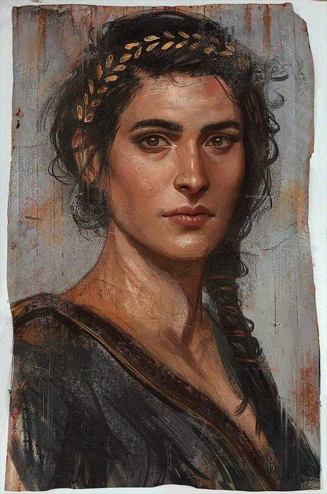 Assassin Creed Odyssey Kassandra Fanart 9gag