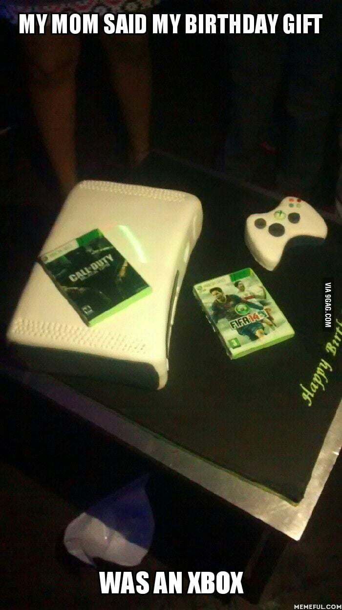 Turns out it was an 'Xbox' birthday cake.