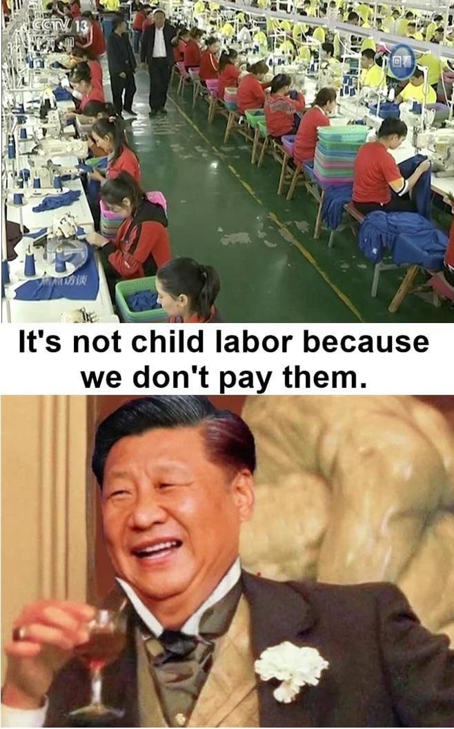 China be like