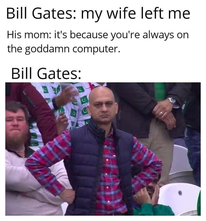 It's always the computer's fault