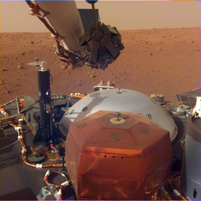 Fun fact : Mars is 100% populated by robots.