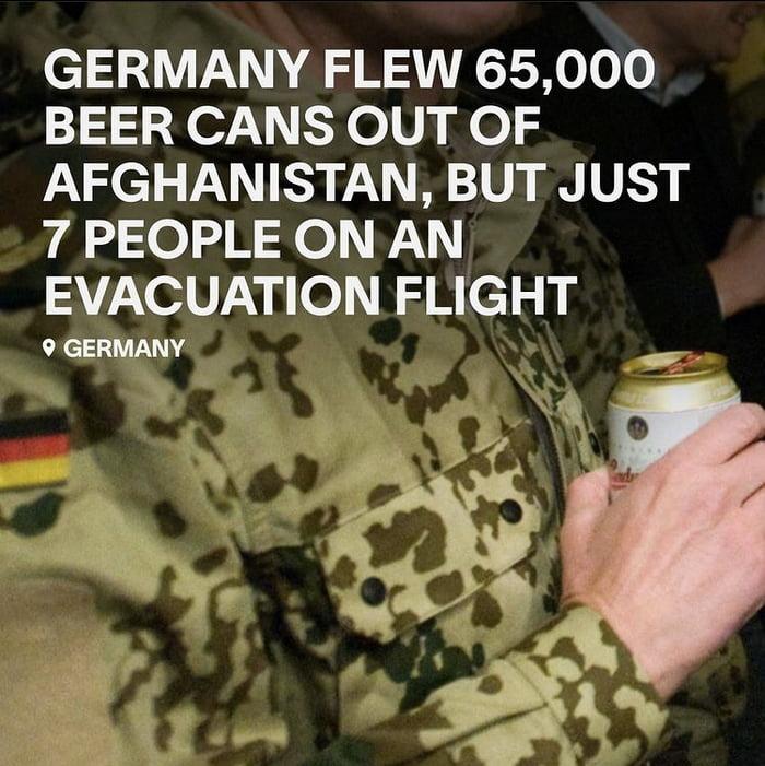 German have their priorities ….