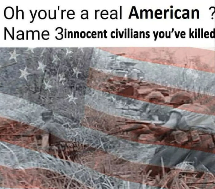 Are you a real American?