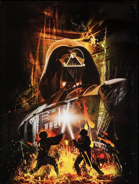 This Star Wars Revenge Of The Sith Poster Is Badass 9gag