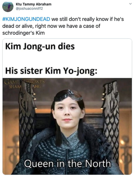 More Memes Emerge As People Are Simping For Kim Jong Un S Sister