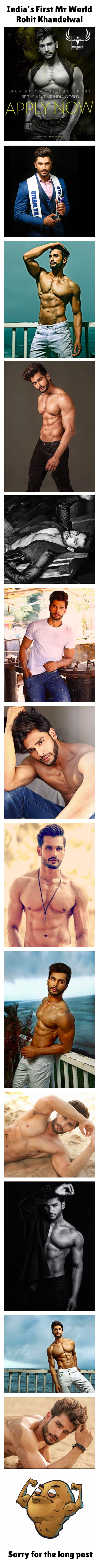 India's First Mr World- Rohit Khandelwal