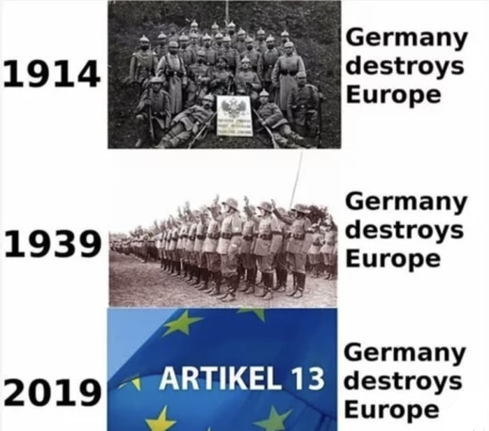 Germany destroys the EU again...
