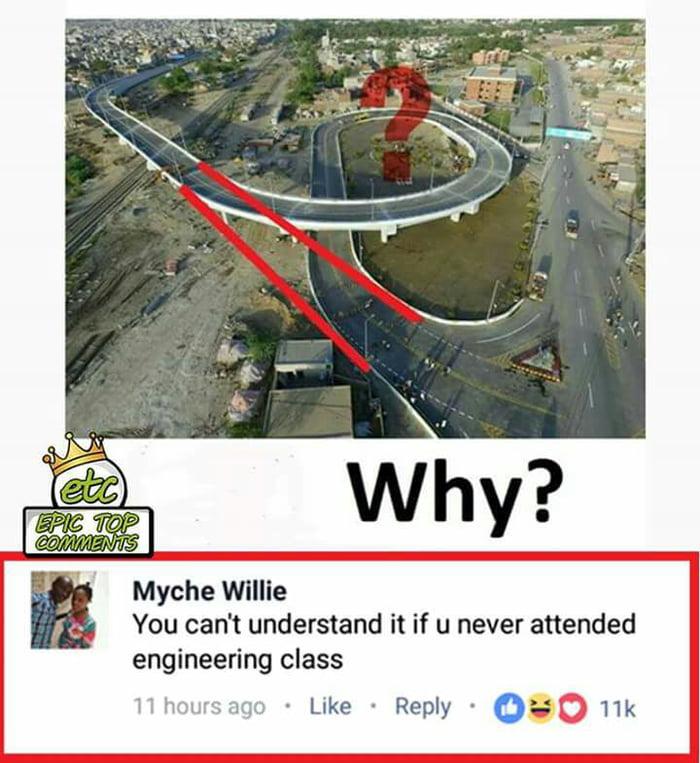 *ehem less traffic....