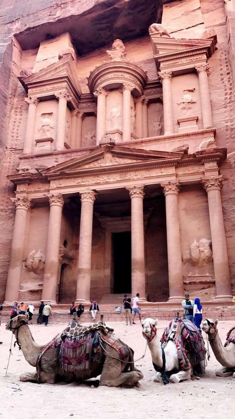 Petra, Jordan. Amazing experience, amazing shot.