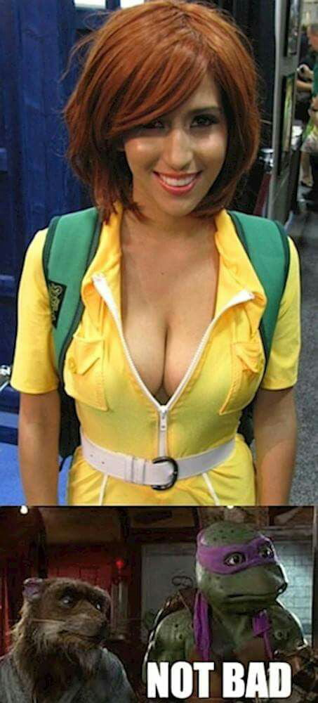April O Neal Cosplay