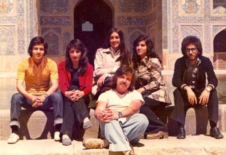 What Iran looked like before the Islamic Revolution in 1970s