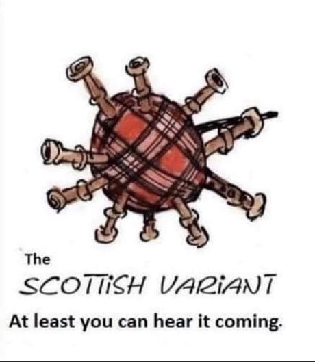 Scottish covid variant