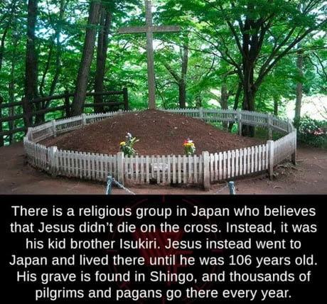 The Tomb of Jesus Christ in Japan