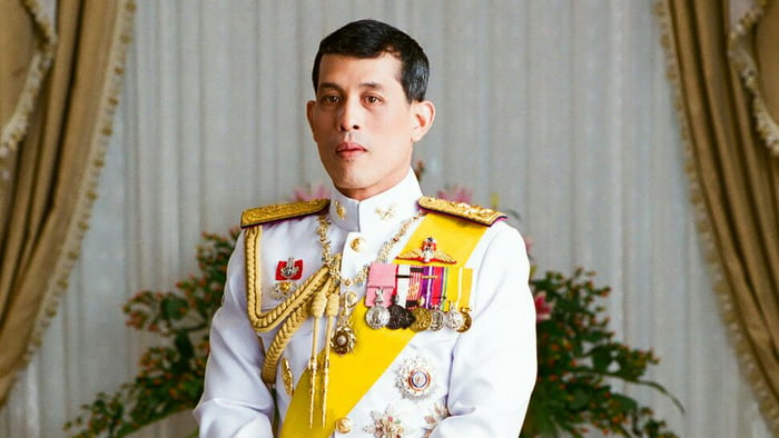 Can we make fun of the Thai king like we do with China's Pooh Bear? Douche just locked up an old lady (for 45years) for insulting him.