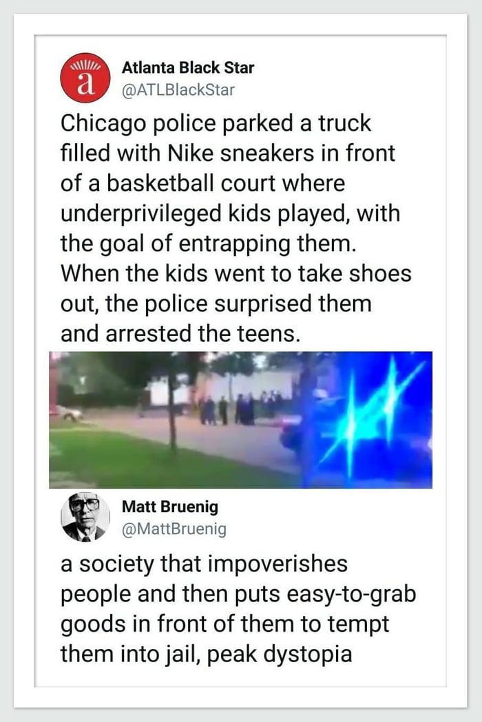 Entrapment of underprivileged kids