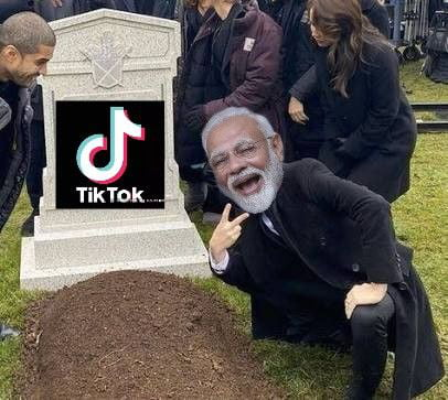 India government ban 59 Chinese apps including tiktok... All hail India...