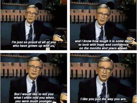 Best 30 Fred Rogers Fun On 9gag
