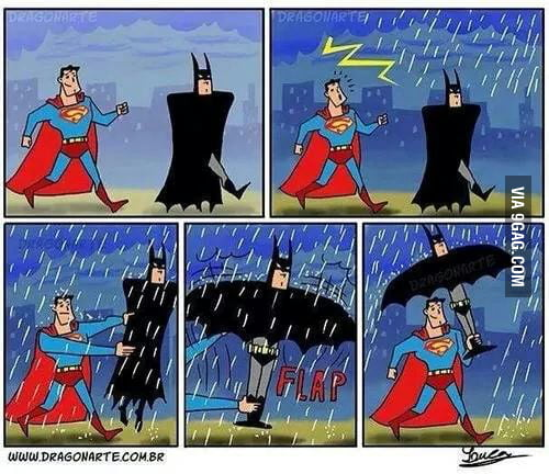 Batman is a badass!