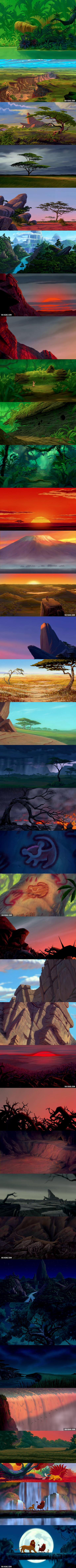 Background Art Of The Lion King 9gag