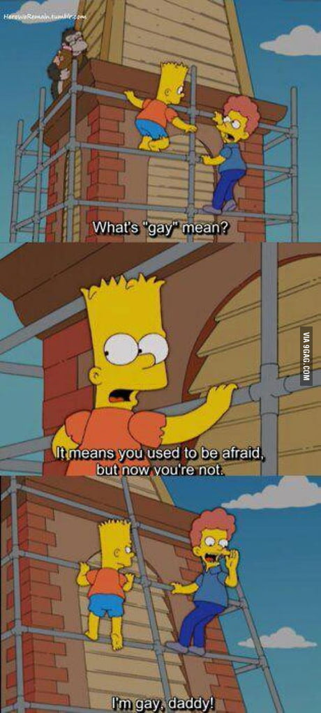 Nackt bart gay simpson Coming Together