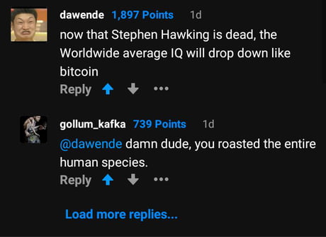 Roasted humans