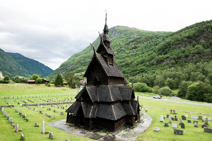 This church in Norway built in the 12th century without nails