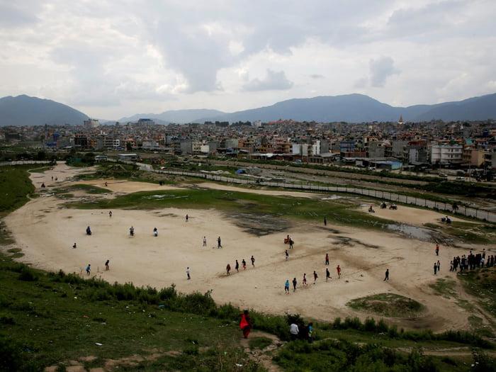 Kathmandu, Nepal | Sumber: 9gag