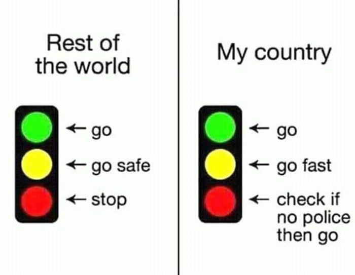 My Country VS Rest of the World