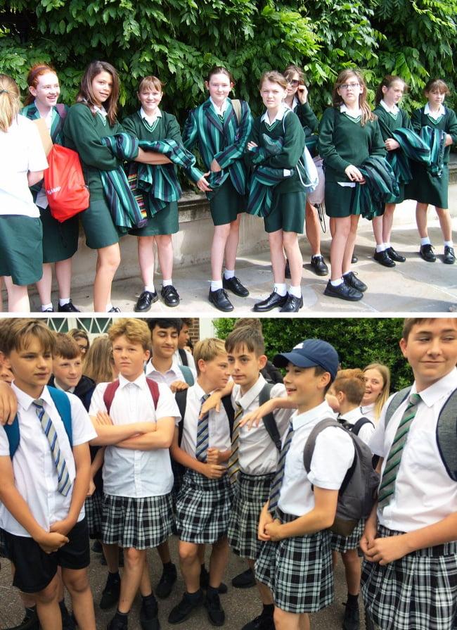 Seragam Sekolah Swasta 71