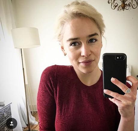 Emilia Clarke went full Targaryen