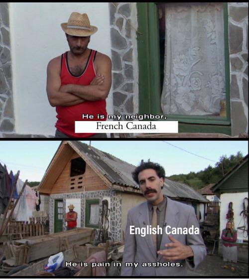 Canadian history in a nutshell