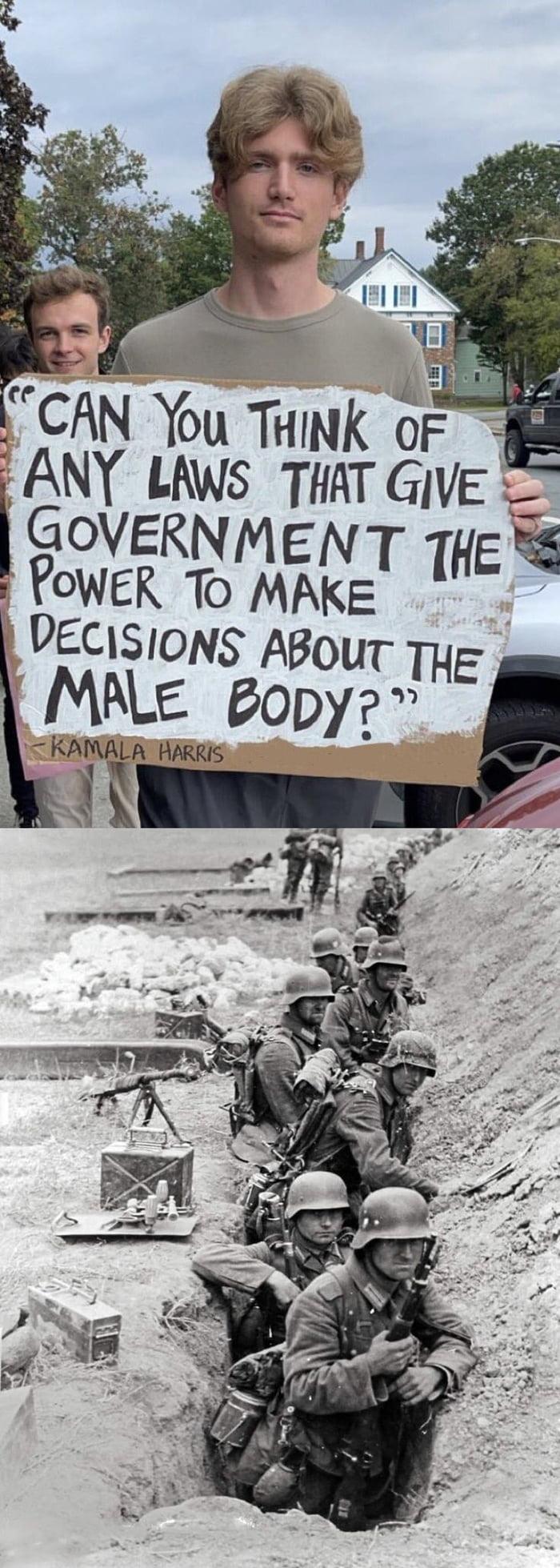Conscription?