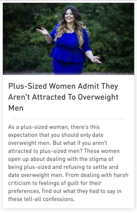 Fat women who date men How To
