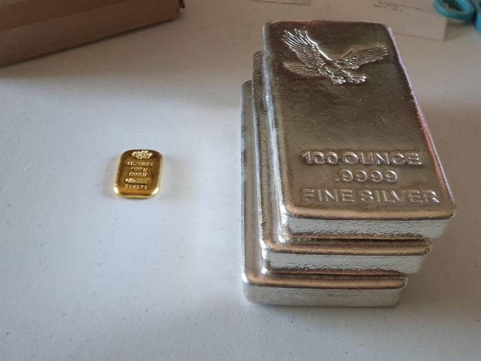 $5,000 of gold vs $5,000 of silver