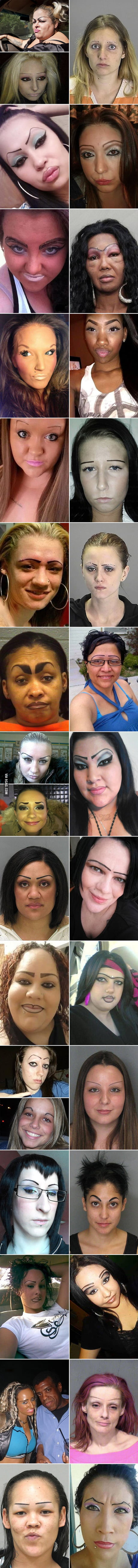 33 Women Who Don't Understand Eyebrows