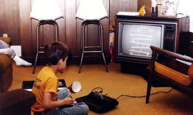What gaming in the early 80's looked like.