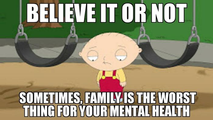 Family arguments suck