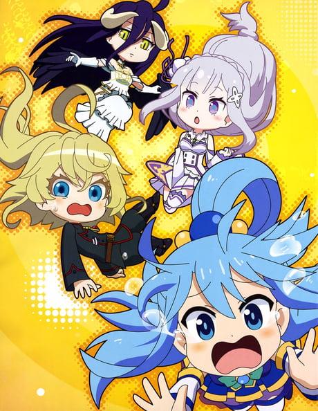 Isekai Girls I Really Like Isekai Quartet S Ending 9gag