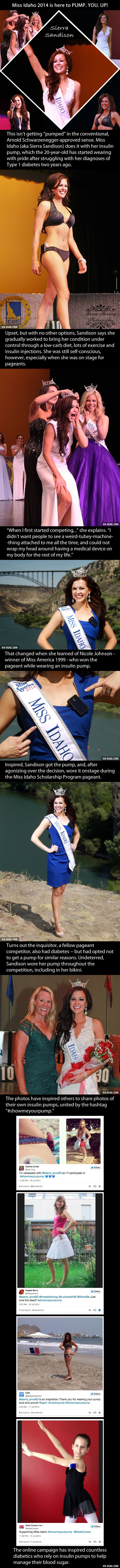 Miss Idaho Wears An Insulin Pump, And She's Not Afraid To Show It