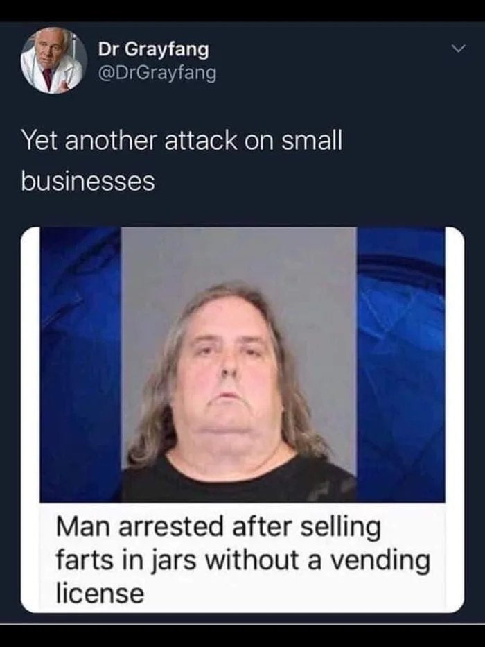 Was he vending them out of a machine?