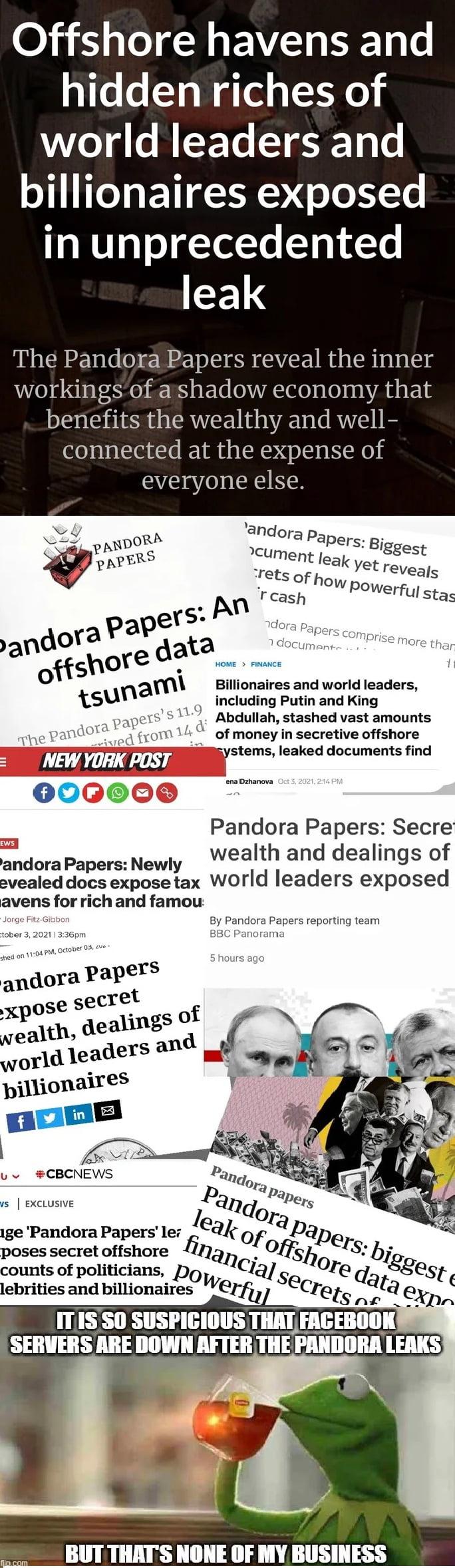 Pandora leak coincidence