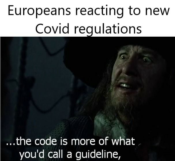 Code Red for most of Europe