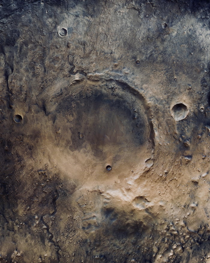 NASA will land Perseverance rover inside this ancient water lake crater on Mars tomorrow - Good Luck!