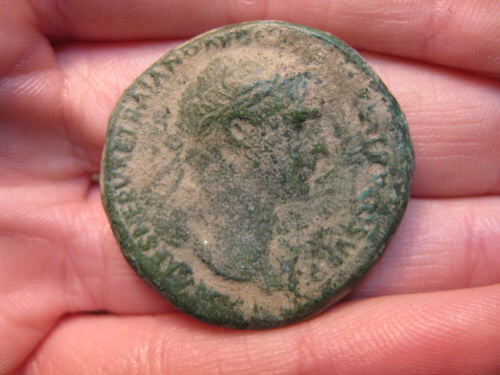 To the chaps with the old coins - this one right here is 2000+ years old and was released buy Roman emperor Trajan