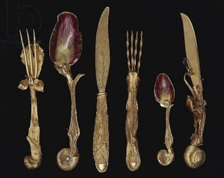 Awesome This cutlery designed by Salvador Dali in 1957