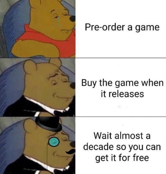 Join the order, never pre-order!