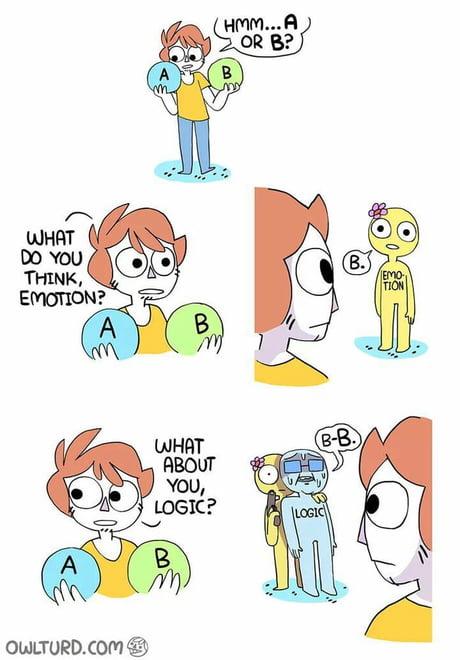 F**k logic! 1