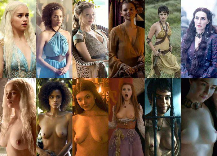 Enough corona virus update. Here's some game of boobs comparison