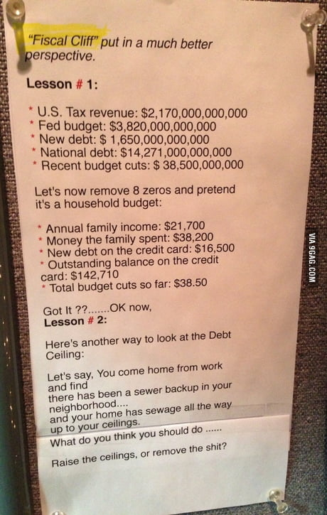 A dumbed down breakdown of the national debt