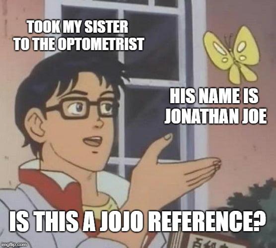 Jojo references everywhere